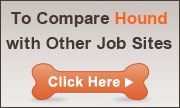 Compare Hound.com with other job search sites